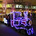 日本 福岡天神站聖誕燈飾
