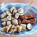 澎湖 阿豹香腸攤