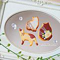仿真甜點黏土-貓咪餅乾系列