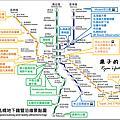 【日本 北海道 札幌地下鐵圖】