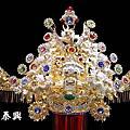 台灣純手工精緻施華洛世奇水鑽銅帽