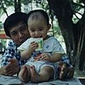 我的家人and我小時候
