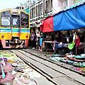 2014.11.08 一日遊   Maeklong美功鐵道市場+安帕娃水上市場+丹能沙朵水上人家+Asiatique碼頭夜市