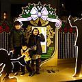 12十二月。表參道。輪胎咖啡店。迪士尼聖誕燈飾