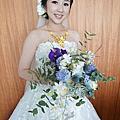 山米兒Sammy-白紗浪漫鮮花造型