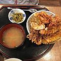 天吉丼、晴木千層豬排、水哥飯糰