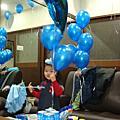 藍色派對3歲生日