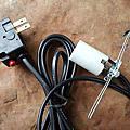 鹽燈陶瓷燈頭 安全電線 自動斷電裝置 兩層防火材質電線