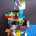 2010 四月份DD Lego創作