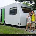 {花蓮三天兩夜} NO.41 2010 5 28 鯉魚潭 探路 入住特別的露營車
