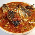 茄汁燒味增鯖魚