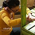 DIY英式鄉村陽台製物木架