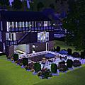 Sims3建築δ黑與白-單身貴族δ