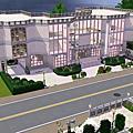 Sims3建築δ粉色薔薇δ