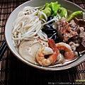 台灣手工麵線料理,手工麵線煮法,創意手工麵食譜