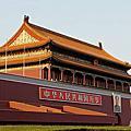 │11'北京│天安門廣場。傍晚降旗