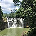 107.5.6.平溪 - 十分瀑布(台灣最大的垂簾型瀑布)