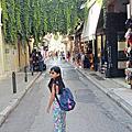 2017/0629~30 抵達雅典,飛行32小時後airbnb入住,兩天的休息住處周圍散步跟買生活用品