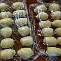 蟹殼黃製作過程