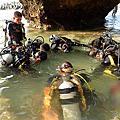島上活動-潛水
