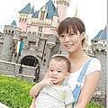 ♡HongKong♡香港迪士尼♡母子倆的狂雨爆走行!!!