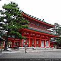 JP*2017日本京都自由行Day 2。平安神宮‧二条城‧錦市場