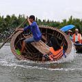 1709 迦南島-搖搖晃晃竹桶船【越南會安】