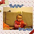 終於滿周歲的小忻 2009-01-29.30