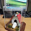 自製模型-史努比狗屋