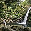 鴛鴦谷瀑布 拜訪男人、女人瀑布