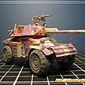 3D紙模-Panhard AML90 裝甲偵查車