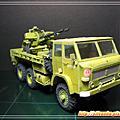 紙模-STAR266軍卡+ZU232高射砲