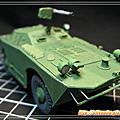 3D紙模-水陸兩棲裝甲車/BRDM