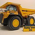 3D紙模-Dump Truck/巨輪卡車