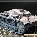3D紙模-StuG III Ausf A