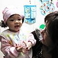 聰丫頭的寶貝9個月嘍