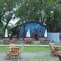 【台東】鐵花村內會唱歌的藍色小屋