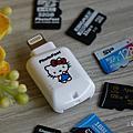 再度尖叫!PhotoFast 蘋果專用 microSD 讀卡機 CR-8800 超可愛 Hello Kitty 聯名款萌萌開箱
