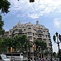 西班牙 巴塞羅那 米拉宮 Casa Mila