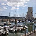 葡萄牙里斯本 航海家紀念碑 貝倫塔 Torre d Belem 大戰紀念碑 修道院