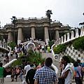 西班牙 巴塞羅那 高廸公園