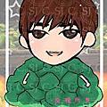 SJ蔬菜小貼紙