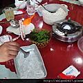 03寧平三谷農家風味料理午餐,羊豬牛肉,羊肉不錯,體驗包羊肉薄片
