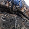 02爬山獅子岩第一段山下遺跡與山中不給拍的半裸古仕女壁畫