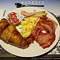 01 早餐,起司蠻清淡不錯吃
