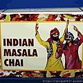 2015-04-08 印度香料茶Masala Chai 100g美金6元,濃郁的香料茶,茶湯為香檳色,內有荳蔻果實、香桂、薑、丁香、黑胡椒粒與少量阿薩姆紅茶葉,本身就超香