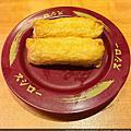 2021-03-13 台北美麗華壽司郎吃了六百四,味道還不錯,推!