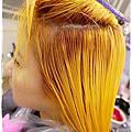 Bon Bon Hair 染髮 玫瑰金粉紫髮色 韓國彩妝師Pony