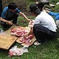 20080612-22.伊甸-甘肅.探勘隊吃什麼?大家吃一樣