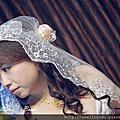 文媛結婚造型(極少髮量新娘)